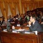 Velký sál poslanecké sněmovny patřil 12. prosince seniorům