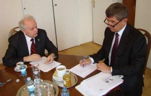 Dr. Pernes a první místopředseda vlády Andrej Babiš