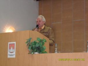 Dr. Zdeněk Pernes, předseda RS ČR
