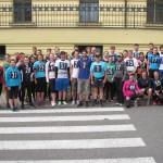 účastníci předloňského ročníku běhu Kladno - Lidice