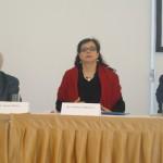 Předseda Pernes, ministryně Marksová, Dr. Pitterman