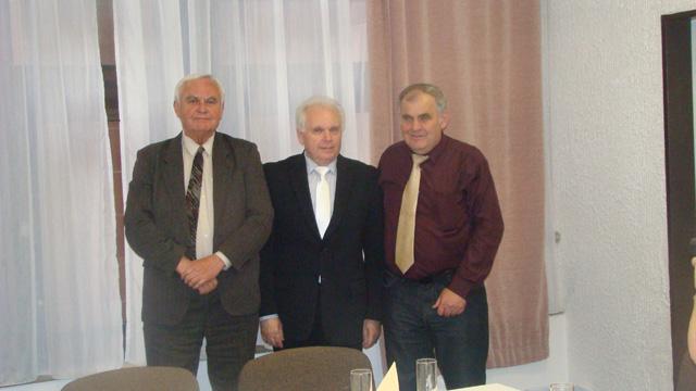 Ján Lipianský,Zdeněk Pernes a Ferencz Démeter