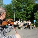 Country kapela HOBLÍCI a harmonikář VILDA STRANEK